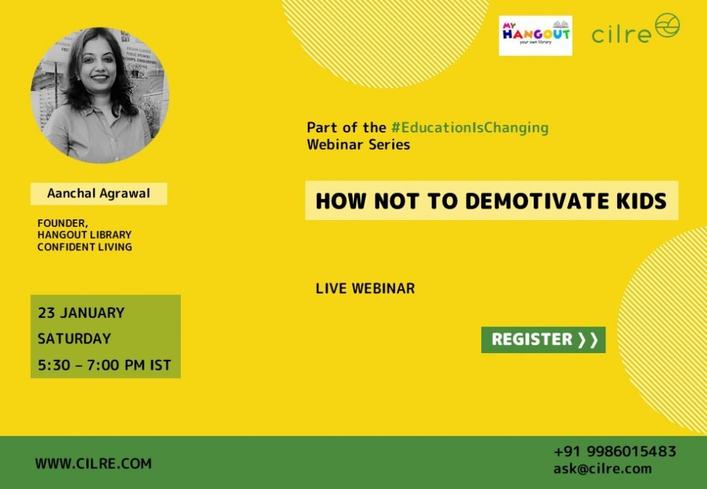 Webinar - How not to Demotivate kids?