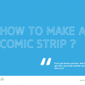 how to make a comic strip