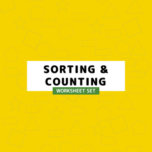 Sorting Counting Worksheet Set.
