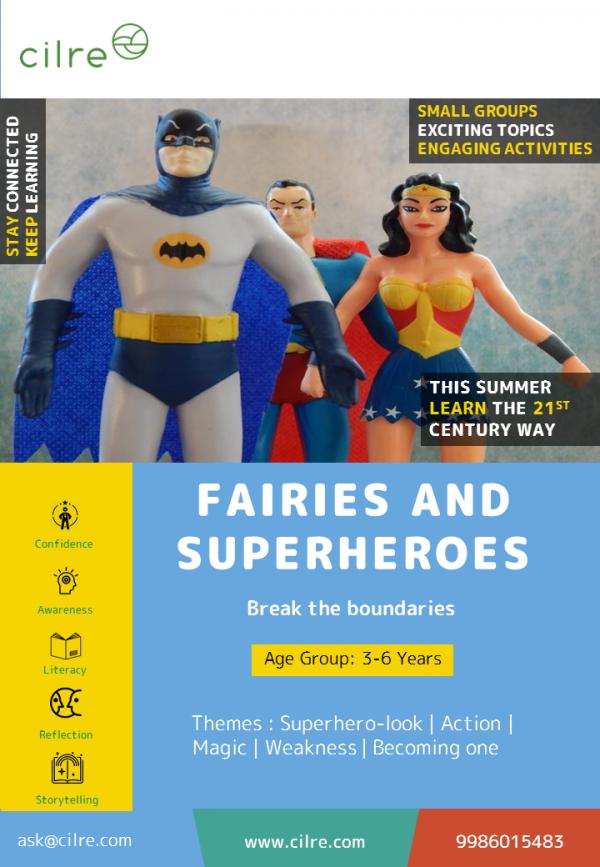 Fairies and Superheros