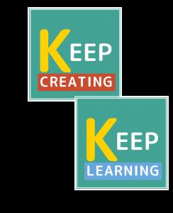 Keep Learning Keep Creating